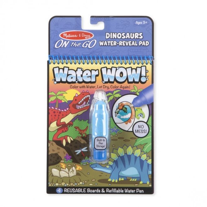 Water - Wow | Coloring books activated by water