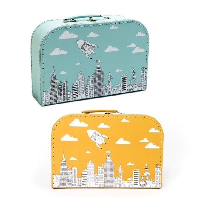 Kartonnen koffertje - City | Pellianni