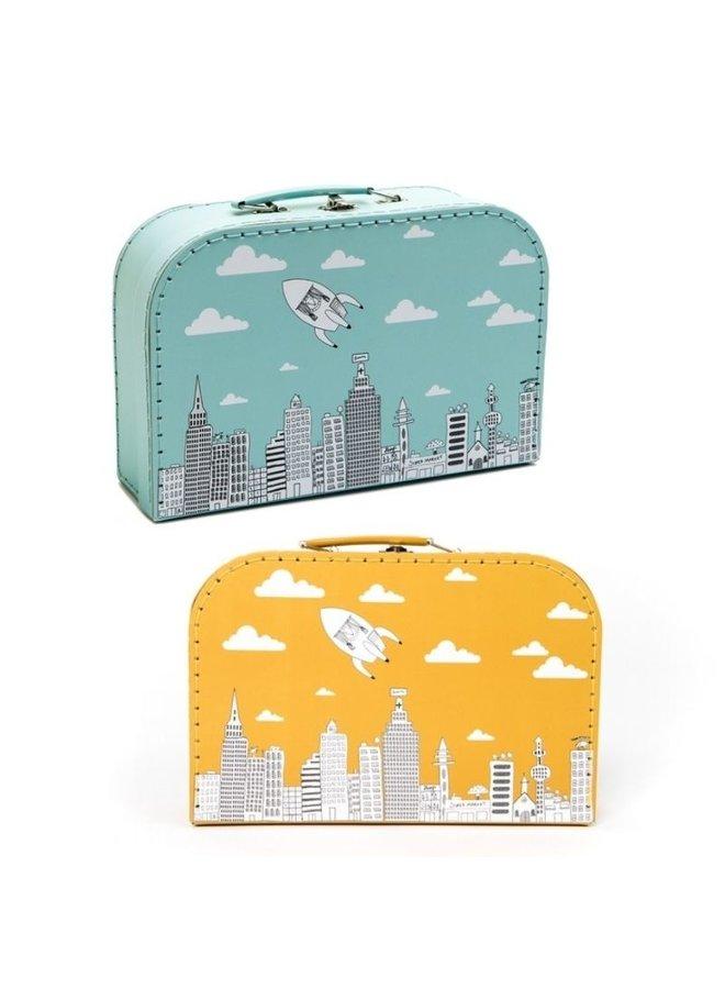 Cardboard briefcase - City | Pellianni