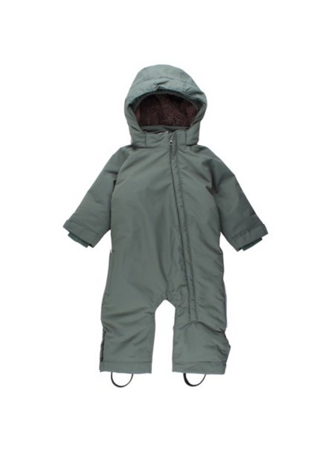 Forest rain & ski suit | green | size 74-98
