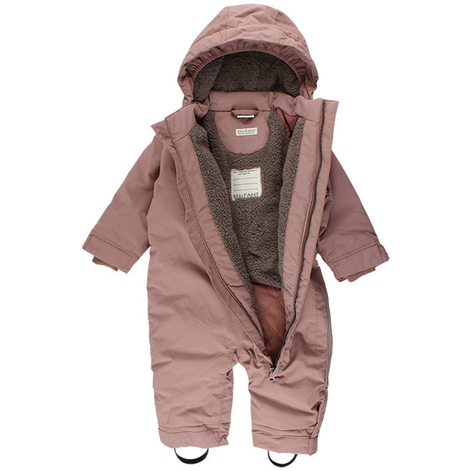 Forest snowsuit | rain & and snow | old pink