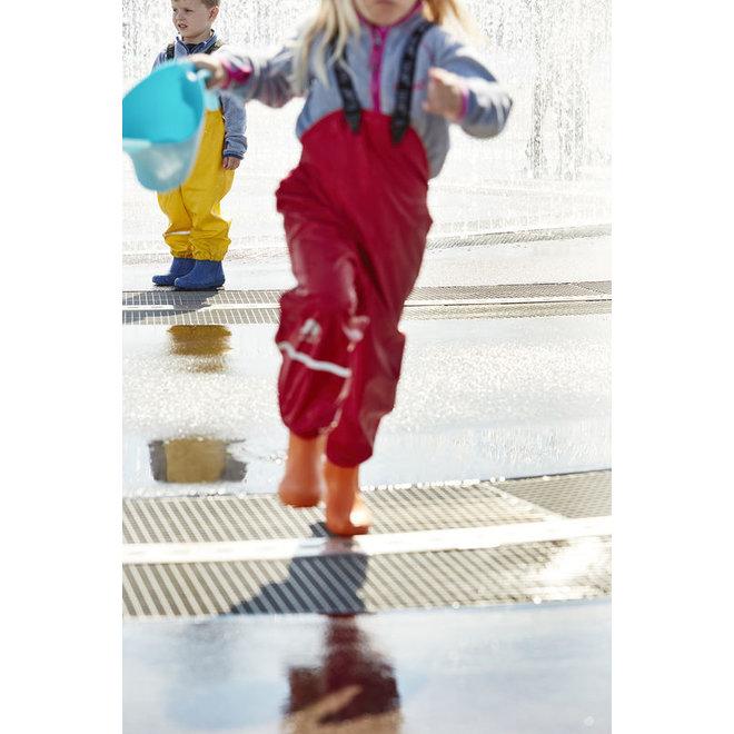 Kinderregenbroek   rood  70-100