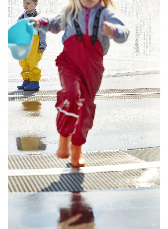 Kinderregenbroek | rood| 70-100