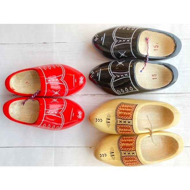 Wooden children's clogs 15 cm