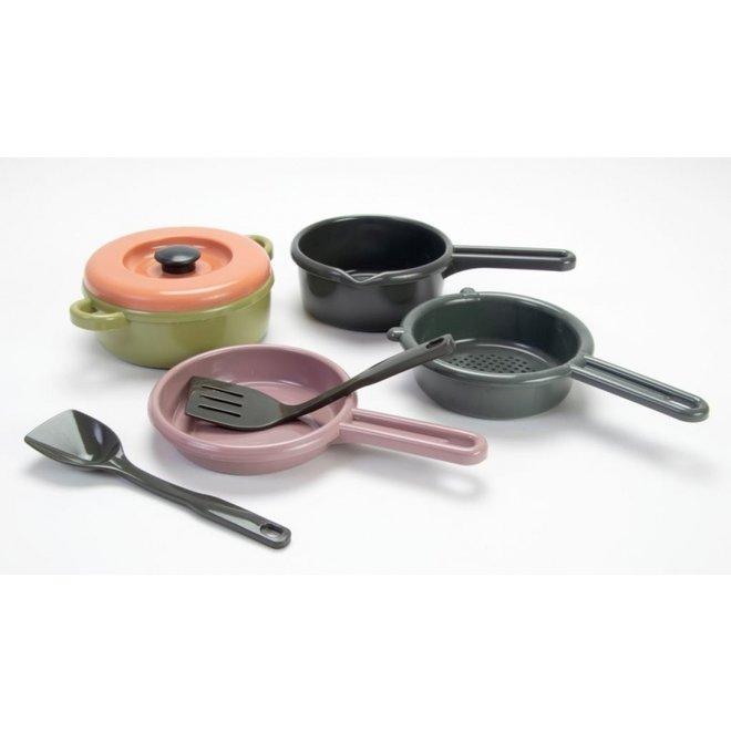 Green Bean - Keuken pannen set