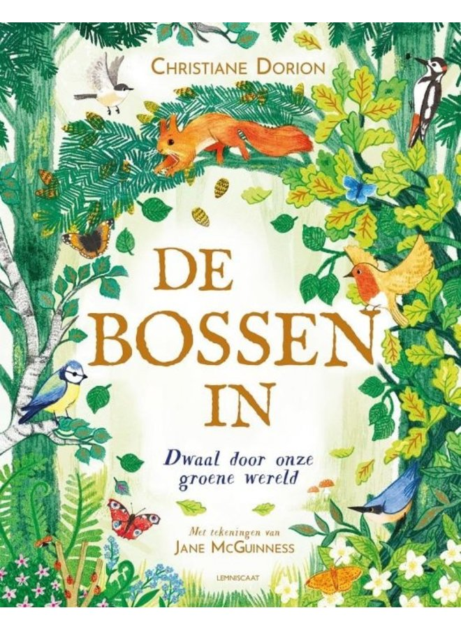 Boek De Bossen in | Christiane Dorion