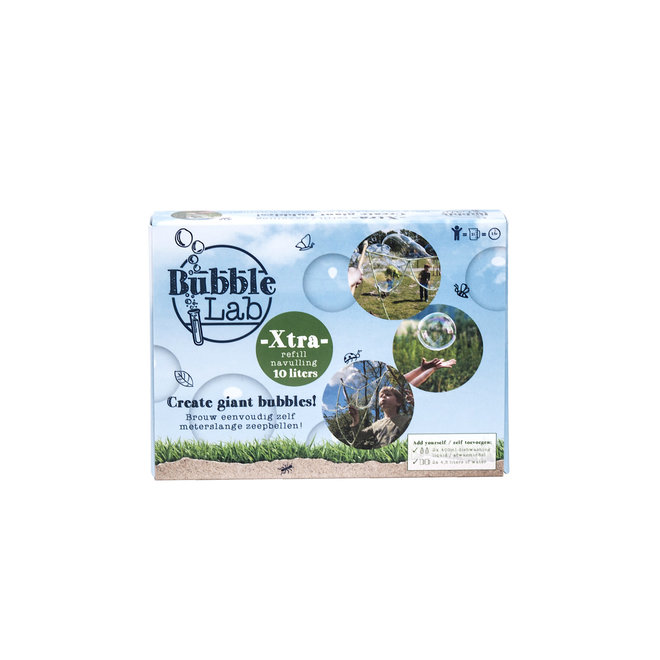 Soap bubbles lather   refill for 5 or 10 liters of suds