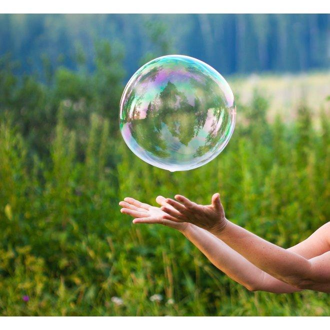 Soap Bubbles Party Fun Package - 3 sets of bubble sticks & soap suds