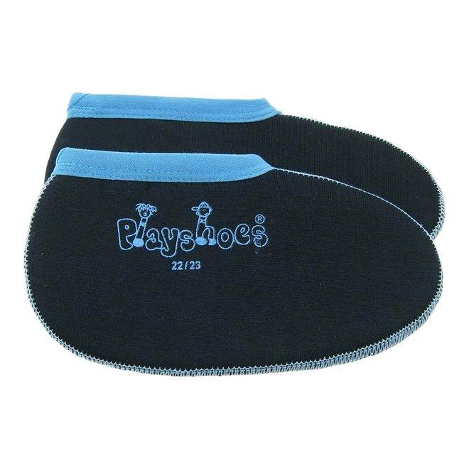 Short boot socks for children   dark blue/blue