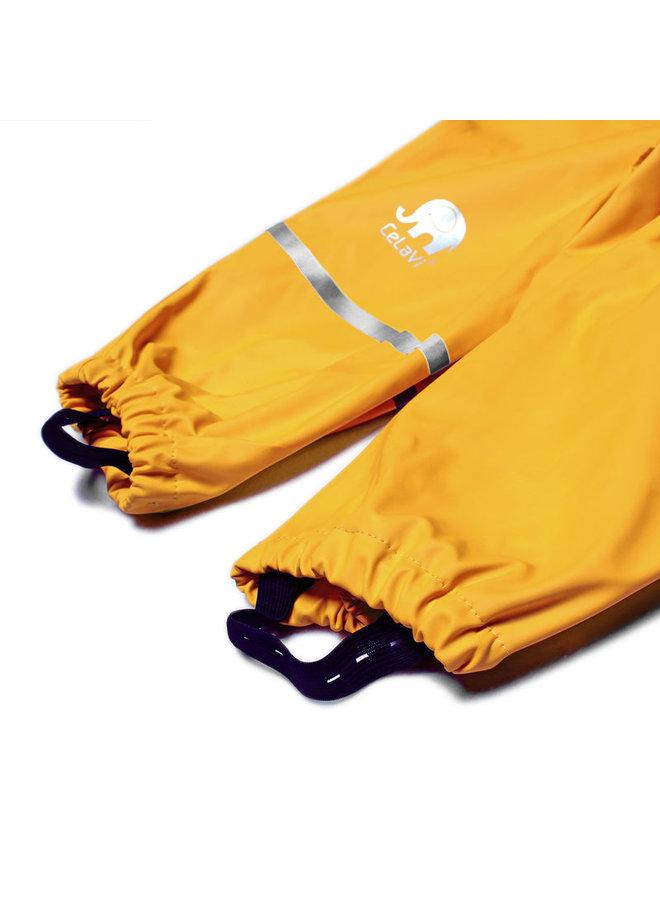 Duurzame kinderregenbroek | Mineral Yellow | 110-140