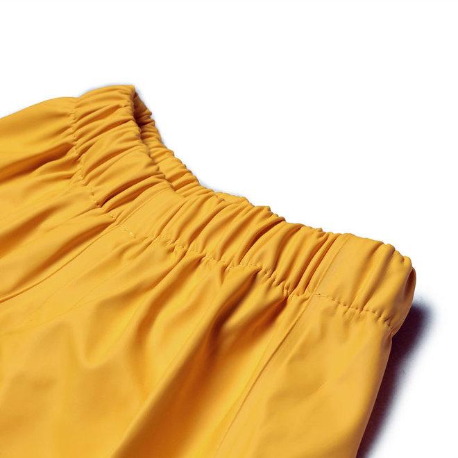 Sustainable children's rain pants | Mineral Yellow | 110-140