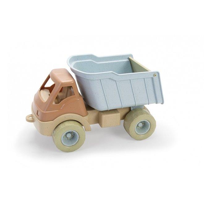 Bioplastic vrachtwagen, dumptruck