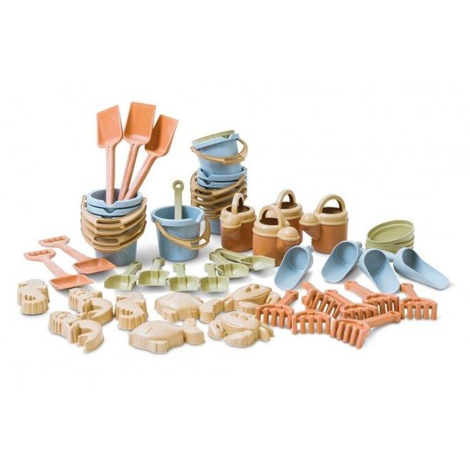 Zandbak speelgoed bio plastic| 50 delen