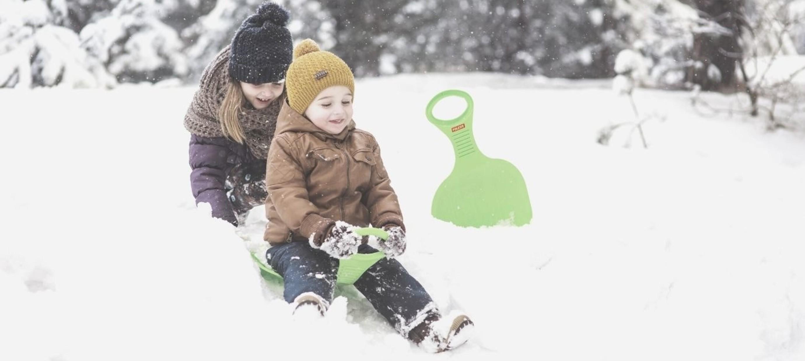 Buitenspeelgoed voor de winter