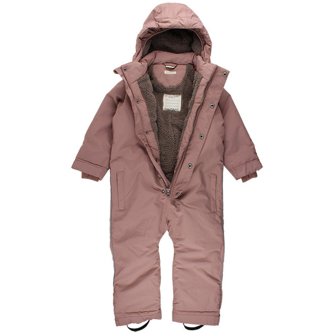 Forest Junior snowsuit | rain & and snow | old pink