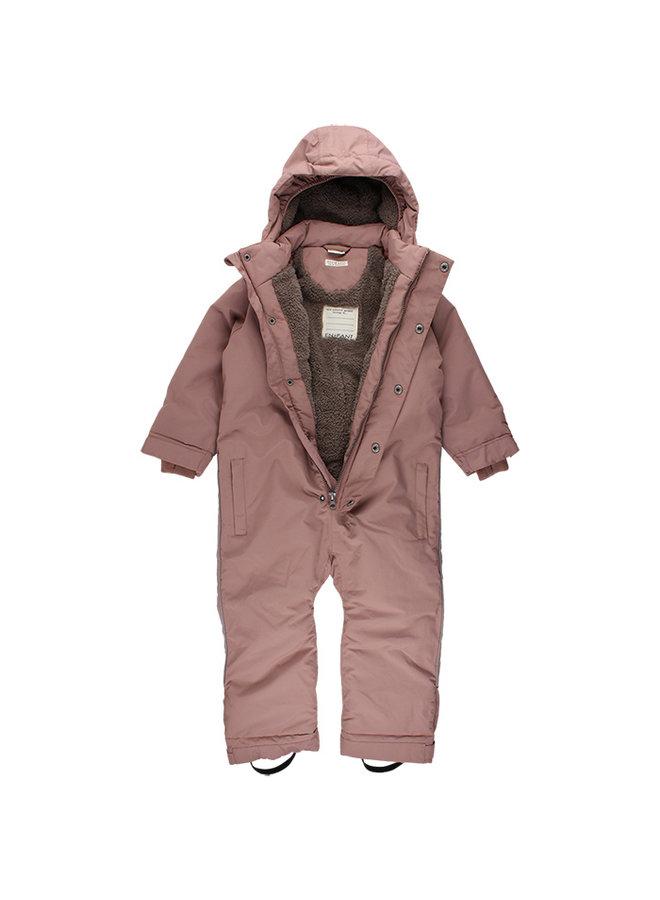 Forest Junior snowsuit| regen & en sneeuw| oudroze