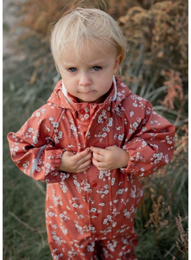 Children's rain overalls | 70-110 | Redwood