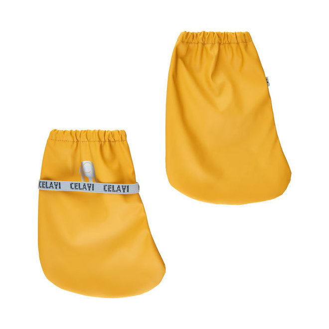 Baby rain slippers unlined | Mineral Yellow