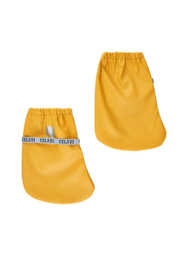 Ongevoerde regenslofjes voor baby's | Mineral Yellow
