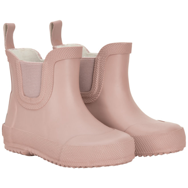 Short rubber wellies| Misty Rose | size 19-26