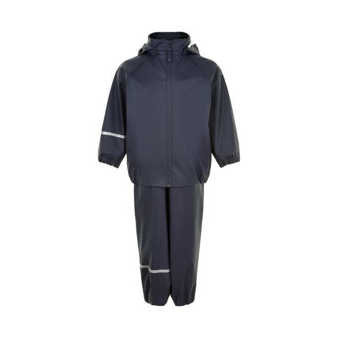Children's rainsuit made from recycled materials | Dark Navy