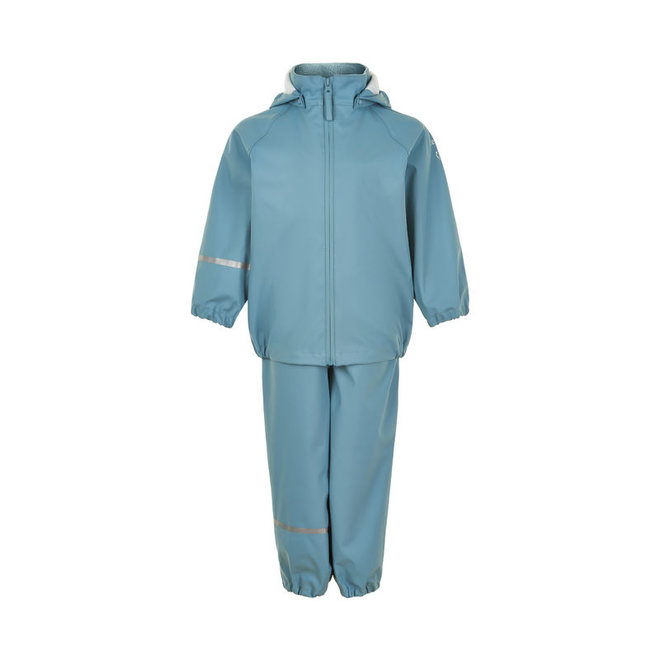 Children's rainsuit made from recycled materials | Smoke Blue