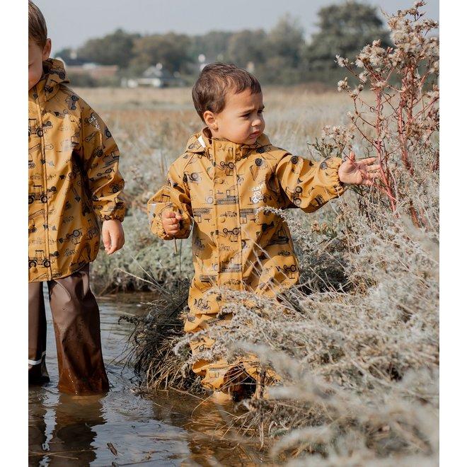 Kinder regenpak uit één stuk   Roadwork   70-110