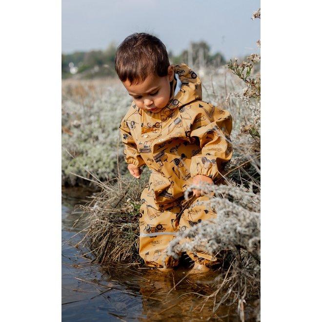 Children's rain overalls   size 70-110   Roadwork