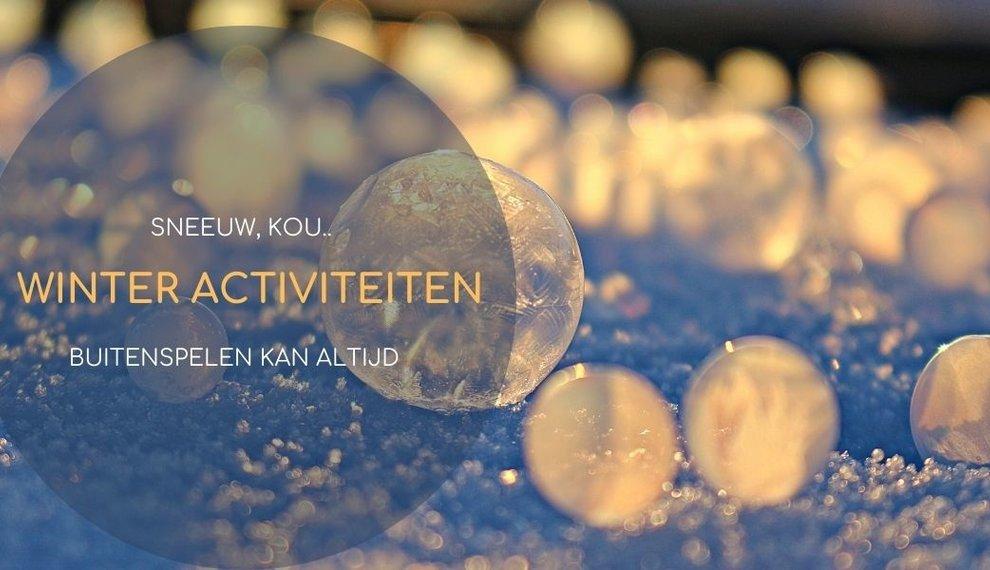 Winteractiviteiten bij sneeuw | buitenspelen