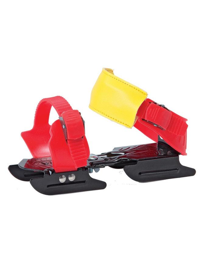 Bob Skates - twee ijzer schaatsen - glij ijzers