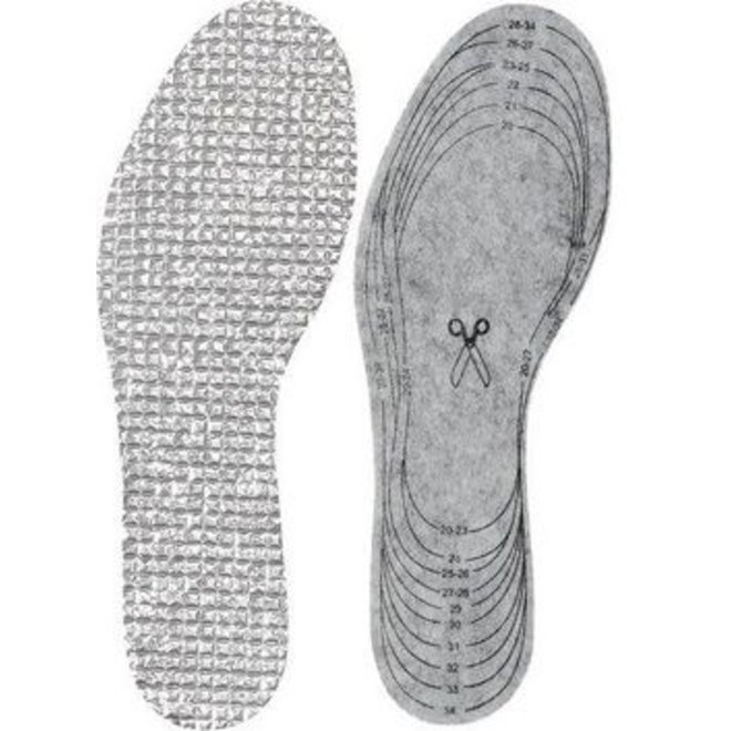 Thermo insoles size 24-35