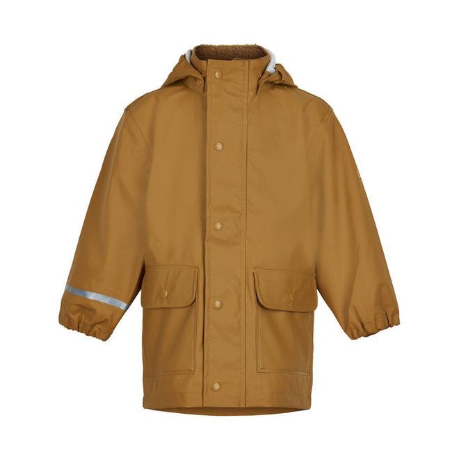 Children's raincoat | ocher yellow | recycled polyester