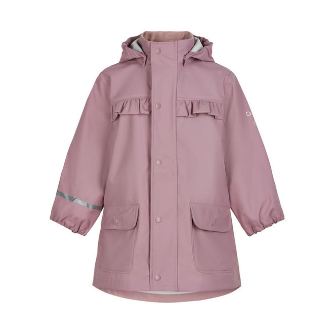 ♻️ Roze/paarse kinderregenjas | Mauve Shadow