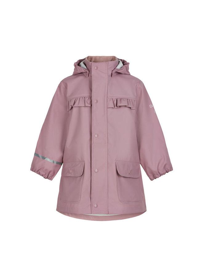Roze/paarse kinderregenjas | Mauve Shadow