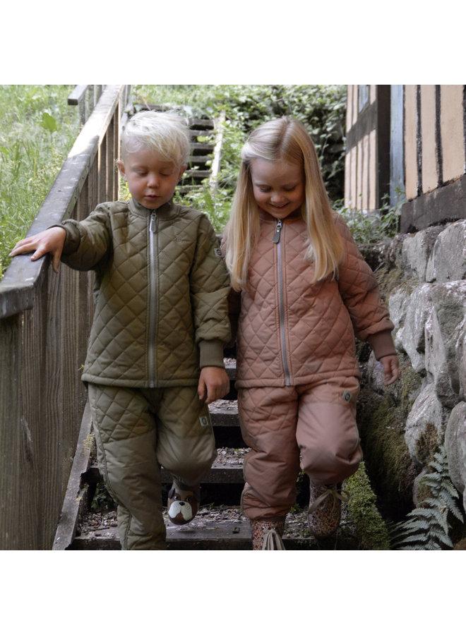 Thermo buitenpak |Fleece gevoerd | Burlwood
