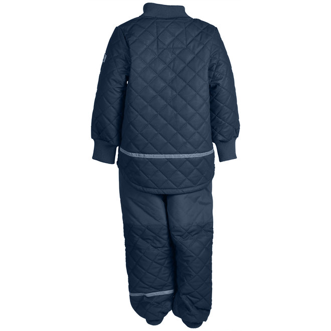 Duvet Thermo outer suit   Fleece lined   BLue Nights