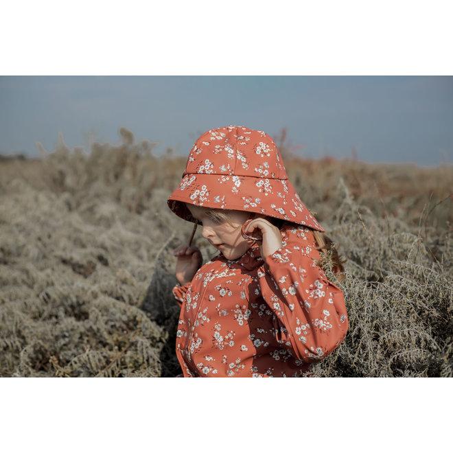 ♻️ Kinderregenjas met bloemen print | Redwood