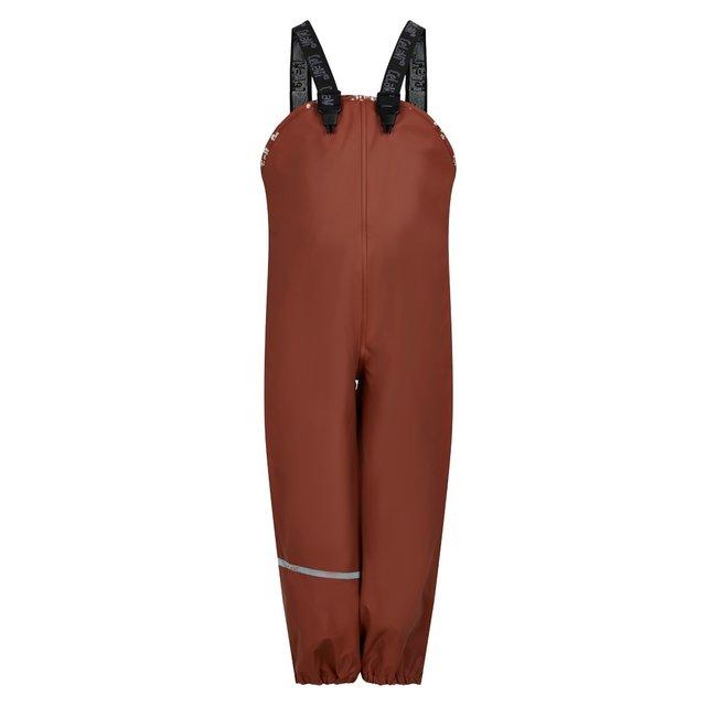 Sustainable children's rain pants   Redwood   size 70-140