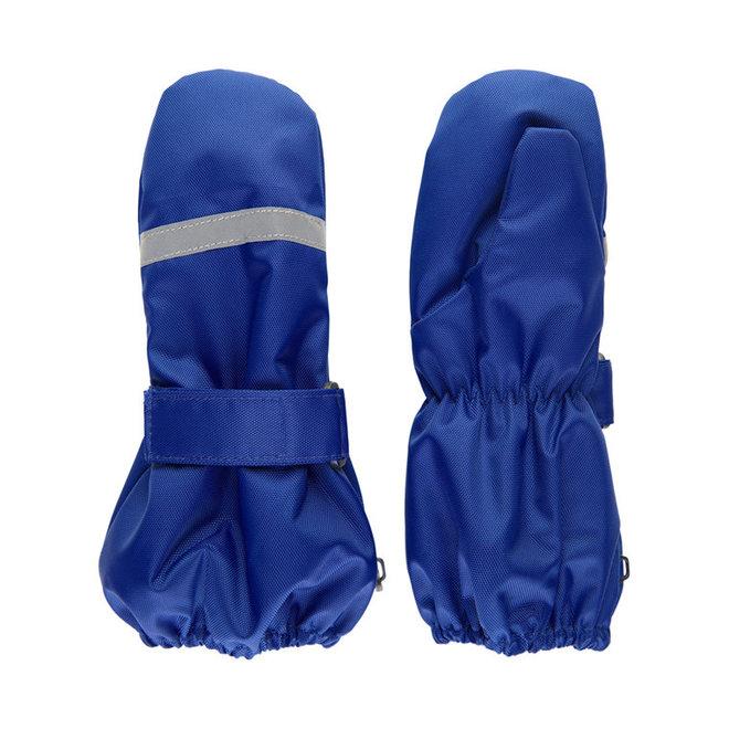 Fleece lined waterproof mittens Oxford | Cornflower blue