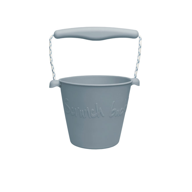 Silicone child bucket | duck egg blue | foldable