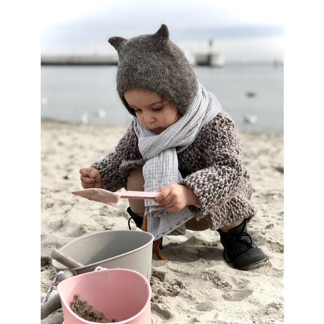 Silicone child bucket | old pink | foldable