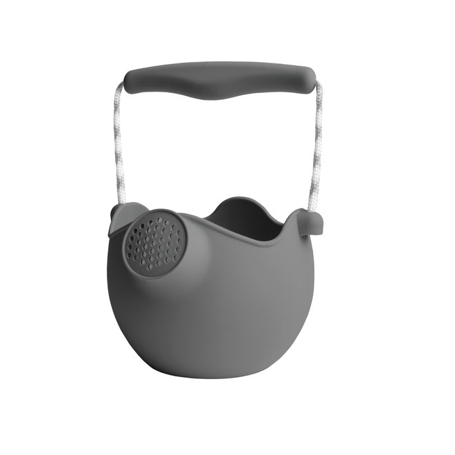 Silicone children's watering can | cool gray | foldable