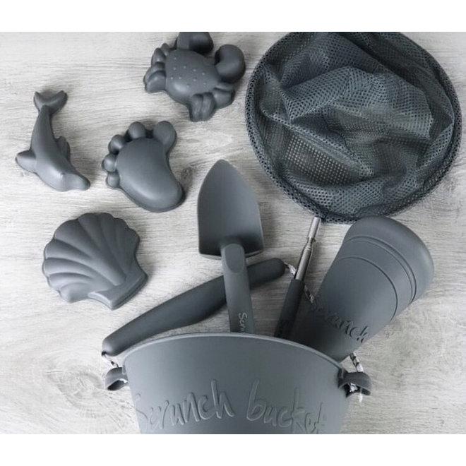 Children's scoop | soft handle | cool gray