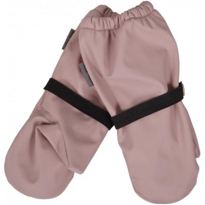 Waterproof fleece lined mittens | pink