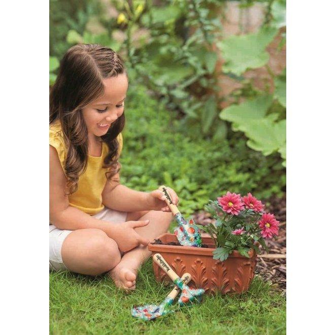 Drie-delige set tuingereedschap voor kinderen