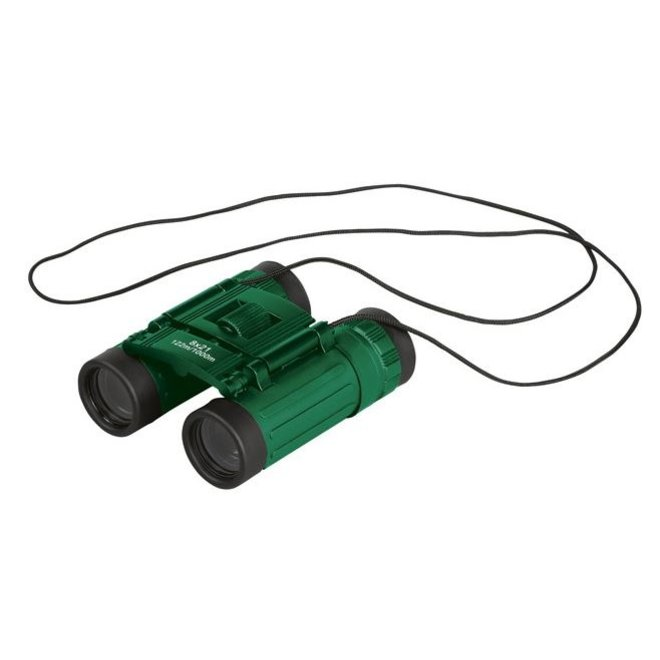 Binoculars for children and adults in protective cover