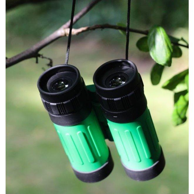 Binoculars   pocket model in protective cover