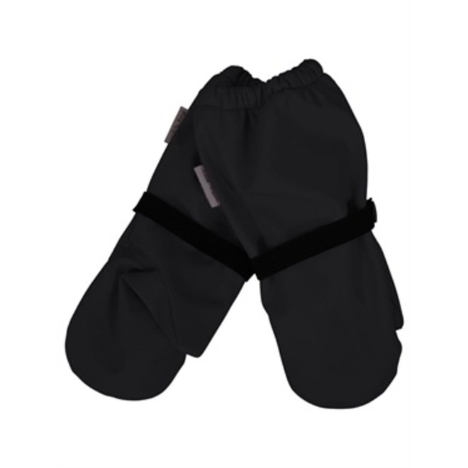 Waterproof fleece lined mittens | black