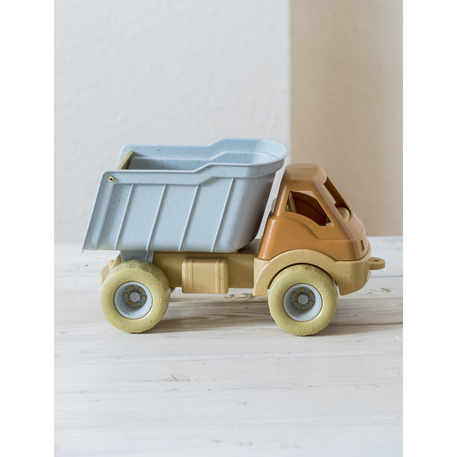 Bioplastic truck, dump truck