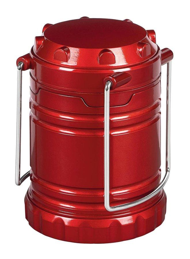 Campfire lantern red